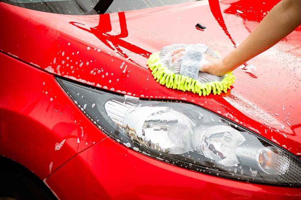 Ruční mytí karoserie